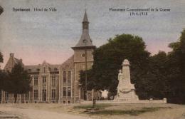 BELGIQUE - LIEGE - SPRIMONT - Hôtel De Ville - Monument Commémoratif De La Guerre 1914-1918. - Sprimont