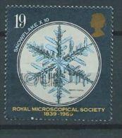 GB 1989 Microscopes:Snowflake (x10) 19p.  SG 1453 SC 1285 MI 1218 YV 1396 - 1952-.... (Elizabeth II)