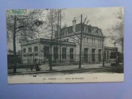 Réf: 60-20-20.             PARIS         Gare De Neuilly. - Métro Parisien, Gares
