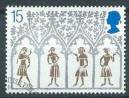 GB 1989 14th-century Peasants From Stained-glass Window 15p  SG 1462 SC 1294 MI 1235 YV 1415 - 1952-.... (Elizabeth II)