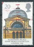 GB 1990 Alexandra Palace ('Stamp World Exhibition 90' Exhibtion)  20p.  SG 1493 SC 1314 MI 1261 YV 1455 - 1952-.... (Elizabeth II)