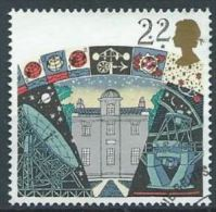 GB 1990 Armagh Observatory, Jodrell Bank Radio Telescope And La Palma Telescope  22p.  SG 1522 SC 1336 MI 1296 YV 1490 - Used Stamps