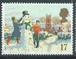 GB 1990 Building A Snowman  17p.  SG 1526 SC 1340 MI 1300 YV 1494 - 1952-.... (Elizabeth II)