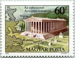 N° Yvert 2710 - Timbre De Hongrie (1980) - MNH - Temple D´Artémis (Diane) à Éphèse (JS)