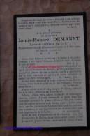 Louis Demanet, Léontine Jacquet, + Braine-le-Comte 1904 - Braine-le-Comte
