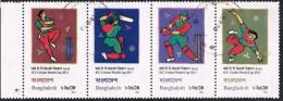 2011 - BANGLADESH - COPPA DEL MONDO DI CRICKET. USATO - Bangladesh