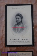 Louisa Fabry Tourinnes-la-grosse 1881 Hamme-mille 1904 - Beauvechain