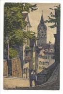 13285 - Zürich Pfalzgasse Mit St.Peter Par Ernst Schlatter - ZH Zurich