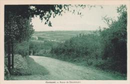 50 CPA Carteret Route De Dennemont - Carteret