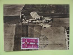 CARTE MAXIMUM CARD AVION DE TOURISME FRANCE - Vliegtuigen