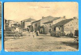 AVR439, Givry Près L'Orbize Selon Cachet Postal, Rue Du Village, Animée ,  Circulée 1914 - France