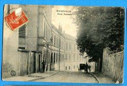 AVR440, Maxéville, Ecole Normale, Animée ,pli D'angle à Droite,  Circulée 1919 - Maxeville