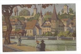13293 - Luzern  Musegg V. Bahnhof Aus Par Ernst Schlatter - LU Lucerne