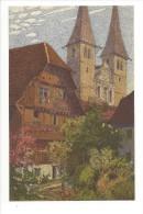 13300 - Luzern Hofkirche Mit Dem Alten Kaplanenhaus Par Ernst Schlatter - LU Lucerne