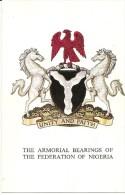 J-THA ARMORIAL BEARINGS OF THE FEDERATION OF NIGERIA(STEMMA ARALDICO) - Nigeria