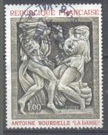France YT N°1569 La Danse D'Antoine Bourdelle Oblitéré ° - France