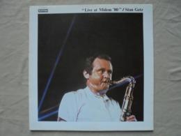 Disque Vinyle 33 T STAN GETZ LIVE AT MIDEM 80 - Jazz