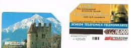 TELECOM ITALIA - C.& C. F3128 -  CASTEL FONTANA, BRANNEBURG  BILINGUE ALTO ADIGE       - USATA - Italia