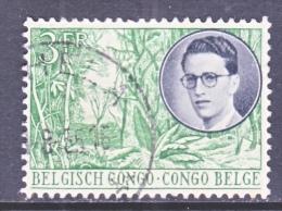 BELGUIM  CONGO  295    (o) - Belgian Congo