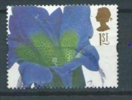 GB 1997 Gentiana Acaulis   1st   SG 1955 SC 1713 MI 1667 YV 1925 - Used Stamps