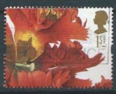 "GB 1997 ""Tulipa Gesneriana"" (Ehret)   1st   SG 1960 SC 1718 MI 1672 YV 1930 - Used Stamps"