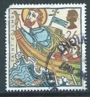 GB 1997 St Columba In Boat,  26p.  SG 1972 SC 1730 MI 1684 YV 1942 - Used Stamps