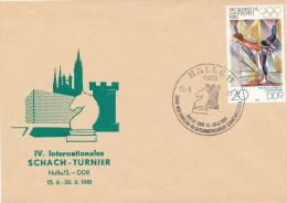 K2480 - DDR (1981) 4011 Halle 11: III. International Chess Festival - Scacchi
