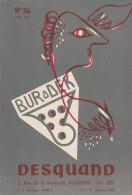 - 18 - BOURGES, DESQUAND  - Notice De 12 Pages Sur Les Machines à écrire, à Calculer Etc.. De 1953 - 032 - Advertising