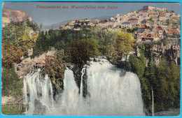 JAJCE - Waterfall ( Bosnia And Herzegovina ) * Travelled * Waterfalls Fall Falls Cascade Wasserfall Cascata Cascada - Bosnia And Herzegovina
