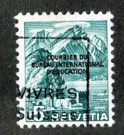 8121 - Swiss 1944 BIE   Michel #2 (o)  ( Cat. 2.€ ) - Servizio