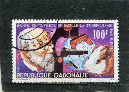 GABON. 1982. SCOTT 507. TB BACILLUS CENTENARY - Gabon (1960-...)