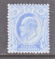 STRAITS SETTLEMENTS  134  *  Wmk. 3 - Straits Settlements