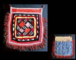 Ancien SUZANI Ouzbekh / Old Uzbek Suzani Textile Wall Ornament - Oriental Art