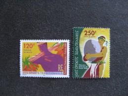 Polynésie: TB Paire N° 625 Et N° 626, Neufs XX. - Polynésie Française