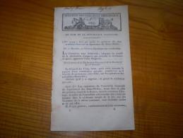 An VII:Prix Encouragement Artistes.Octroi Municipal Versailles.Administration Hospices Civils.Déserteurs Armée De Terre - Decrees & Laws