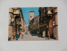 CUNEO - Alba - Via Vittorio Emanuele - Animata - Auto - Studio Bancario San Paolo Di Torino - Cuneo