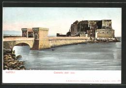 Cartolina Napoli, Castello Dell' Ovo - Napoli
