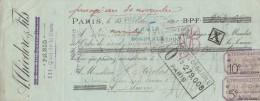 Lettre Change 15/10/1899 A THEODORE & Fils Quai De La Gare PARIS Pour Libourne - Lettres De Change