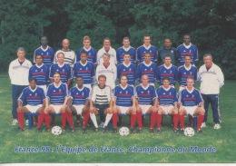 Football France 98 : L'équipe De France Championne Du Monde (série Officielle Neuve Port Payé) - Calcio
