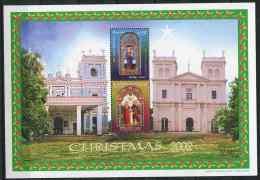 Sri Lanka ** Bloc N° 81 - Noël - Sri Lanka (Ceylan) (1948-...)