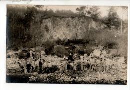 TRAVAUX . SOLDATS, MILITAIRES, POILUS . CARTE-PHOTO - Réf. N°12032 - - Manoeuvres