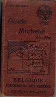 GUIDE MICHELIN 1924 BELGIQUE - LUXEMBOURG -  PAYS RHENANS - SUD DE LA HOLLANDE - Michelin-Führer