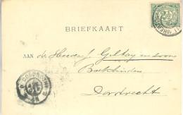 1900 Firma-brk Van 'sHERTOGENBOSCH Naar Dordrecht - Periode 1891-1948 (Wilhelmina)