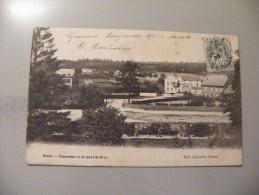 A326. CPA. BELGIQUE. GLONS. Panorama Vu Du Pont De Brus.. Rare Beau Plan . écrite & Voyagée 1905 - Bassenge