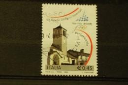ITALIA USATI 2004 - 20 GIOCHI INVERNALI TORINO 2006  - SASSONE 2743 - RIF. M 0356 - 6. 1946-.. Repubblica