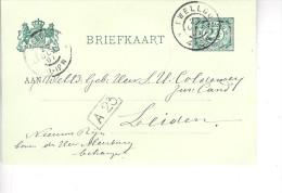 1901 Bk Van TWELLOO (grootrond) Naar Leiden - Covers & Documents