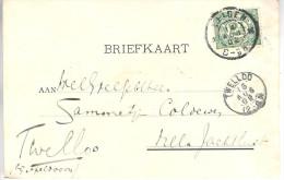 1902 Ansicht Van OEGSTGEEST Via Leiden Naar Twelloo - Periode 1891-1948 (Wilhelmina)