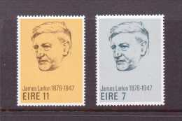 IRLANDE 1976 JAMES LARKIN  YVERT N°338/39  NEUF  MNH** - 1949-... Republic Of Ireland