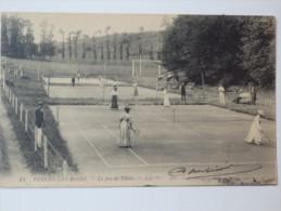 Veules-les-Roses, Le Jeu De Tennis. - Veules Les Roses
