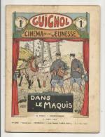"""Hebdomadaire, """"Guignol"""" - Cinéma De La Jeunesse - 235 - 2/04/1933 - Dans Le Maquis - Livres, BD, Revues"""